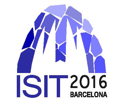ISIT 2016 Barcelona